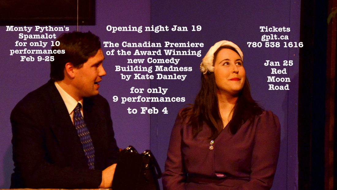 Award Winning Comedy Canadian Premiere Jan 19