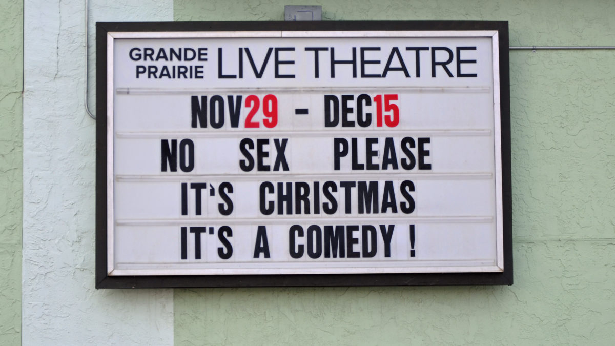 A Comedy for Christmas Cheer! Nov 29-Dec 15
