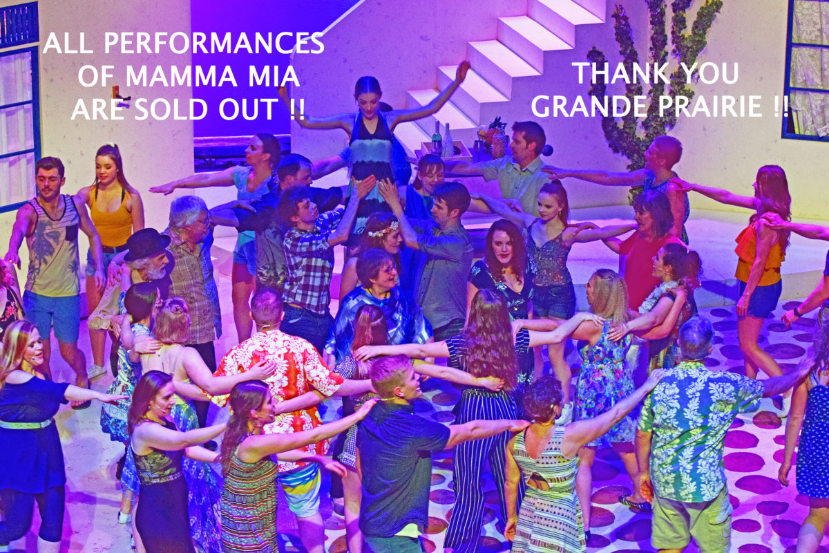 All Performances are SOLD OUT