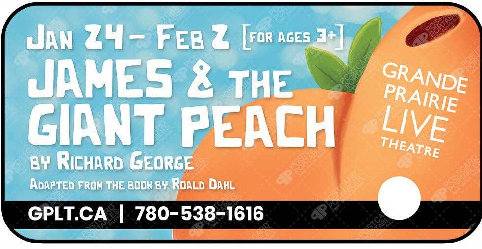 James and the Giant Peach by Richard George Adapted from the book by Roald Dahl