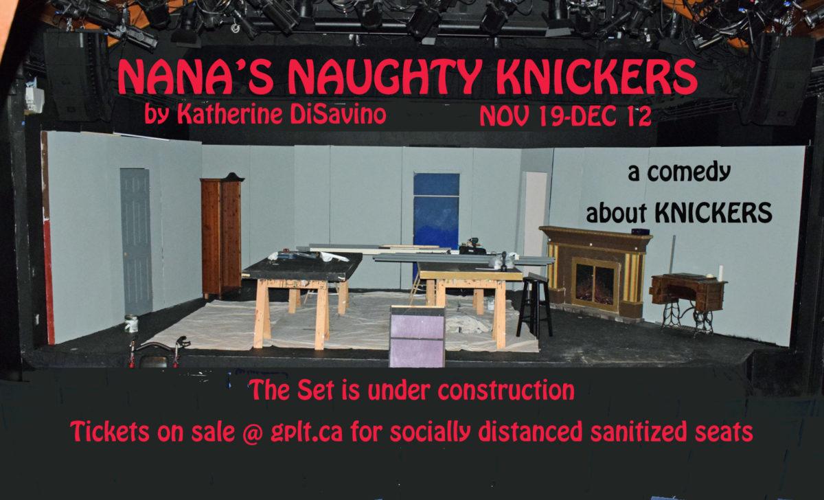 Nana's Naughty Knickers Nov 19-Dec 12
